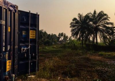 BioContenedor en Sierra Leona