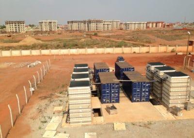 Saturn en un nuevo desarrollo de apartamentos en Ghana