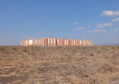 BioReactor en un nuevo desarrollo de apartamentos en Kenya