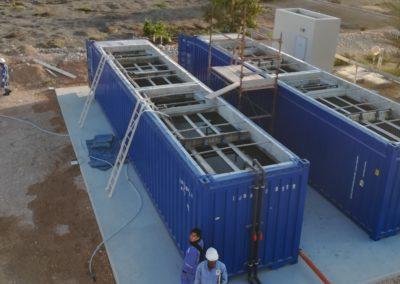 BioContenedor en Oman – Reutilización del agua