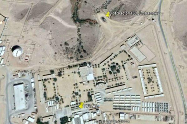 BioReactor at oilfield in Yemen for TOTAL - 10
