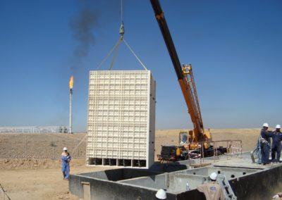 BioReactor en un campo petrolero en Yemen