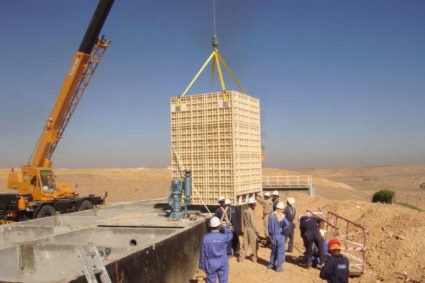 BioReactor at oilfield in Yemen for TOTAL - 9