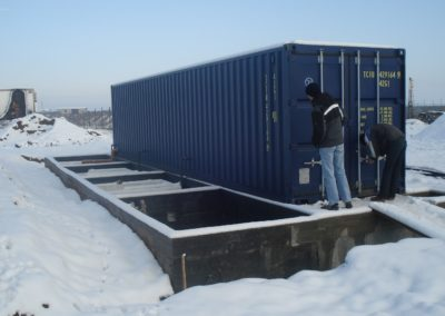 Sistema BioReactor en una fábrica de helados en Rumanía