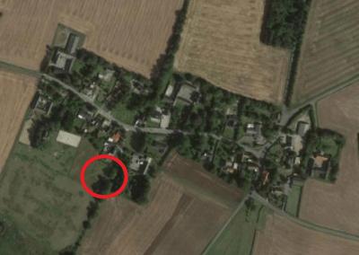 Jupiter en el pueblo de Dysted en Dinamarca